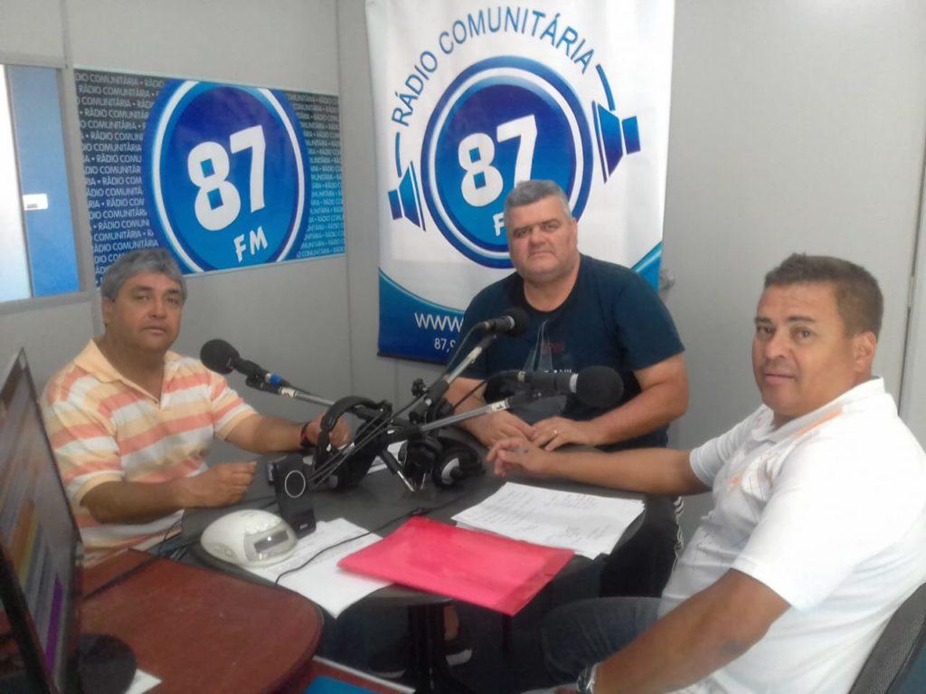 Donacio Silva, Anselmo Luiz Rodrigues e Sergio Borges