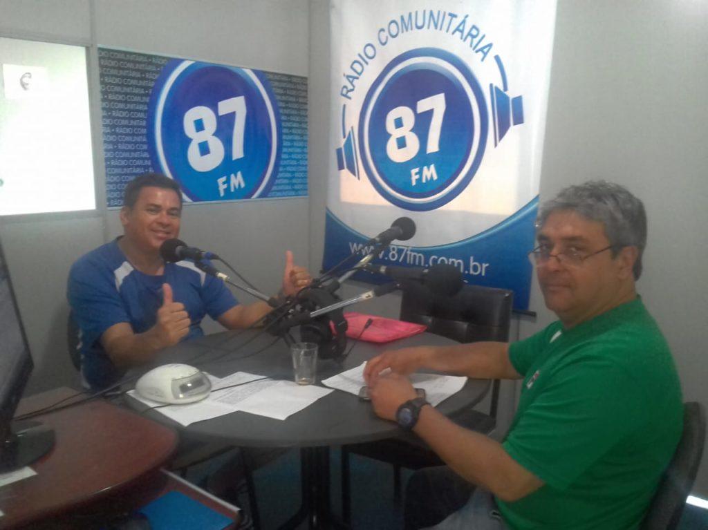Sergio Borges e Donacio Silva