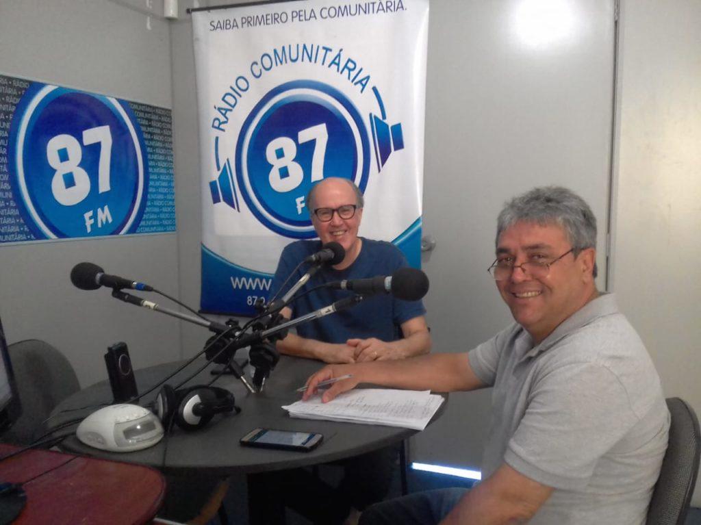 Luiz Antônio Prosperi e Donacio Silva