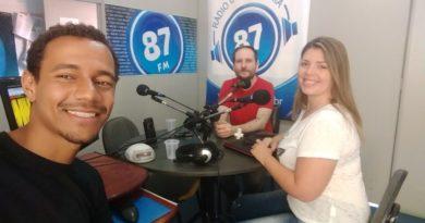 Leandro Vidal, Caetano Cury e Carol Negrão