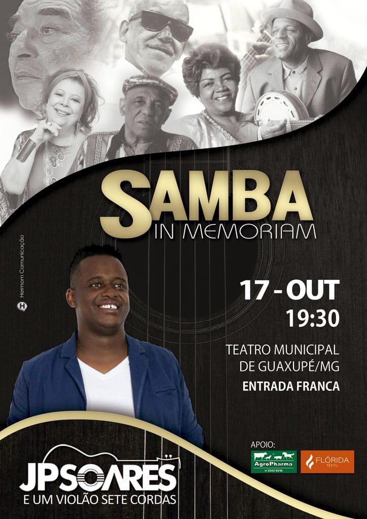 SAMBA IN MEMORIAM - JP Soares e um violão sete cordas
