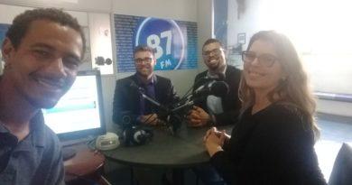 Leandro Vidal, Dionatan Moura, Leonardo Pacheco e Carol Negrão