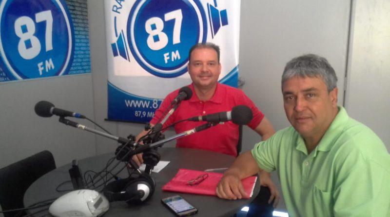 Dr. Cássio Miranda e Donacio Silva
