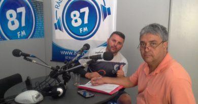 Prof.º Rodrigo Stampone e Donacio Silva