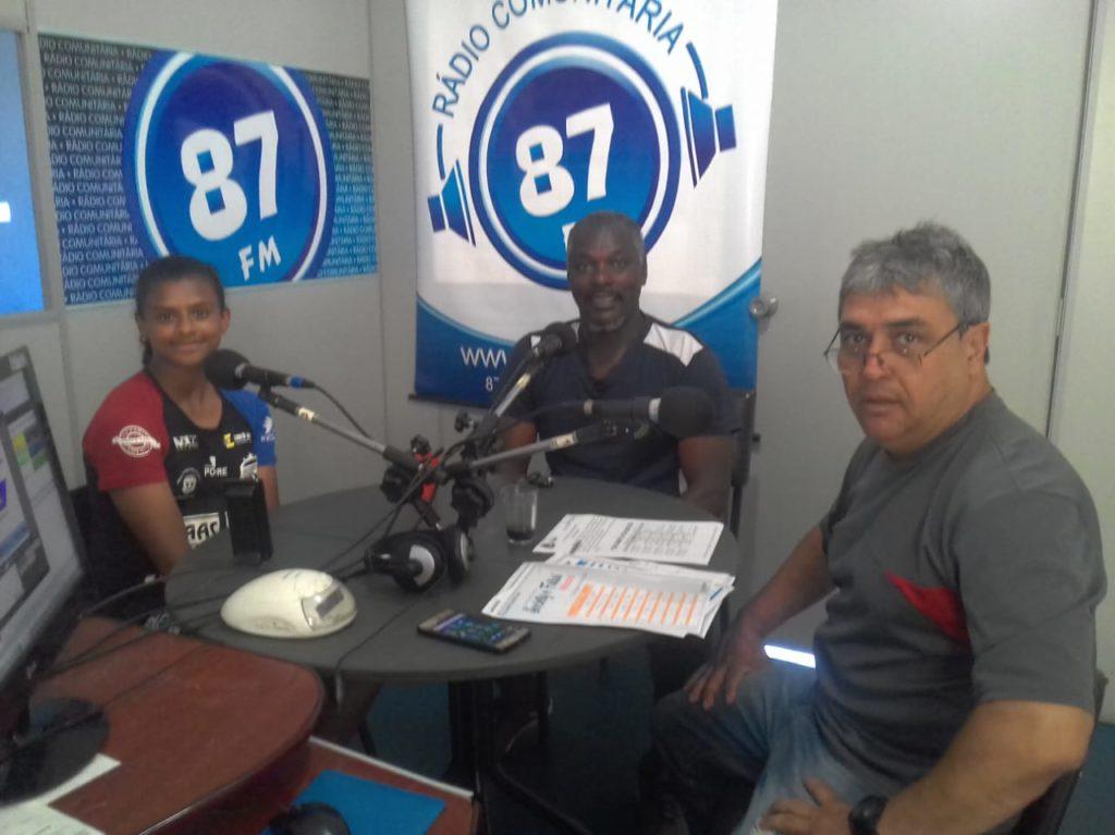 Valquiria Silva, Cézar Mineiro e Donacio Silva