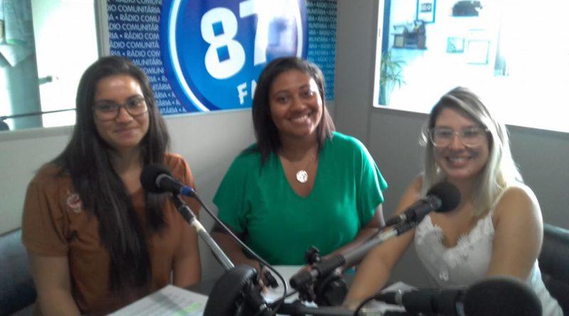 Isabela Marina Coelho de Souza, Ana Luiza Teodoro da Silva e Laura Andreo e Silva
