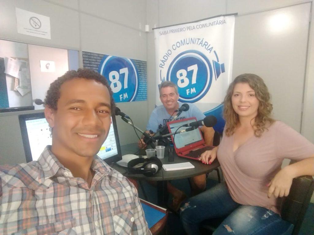 Leandro Vidal, Sergio Farias e Carol Negrão