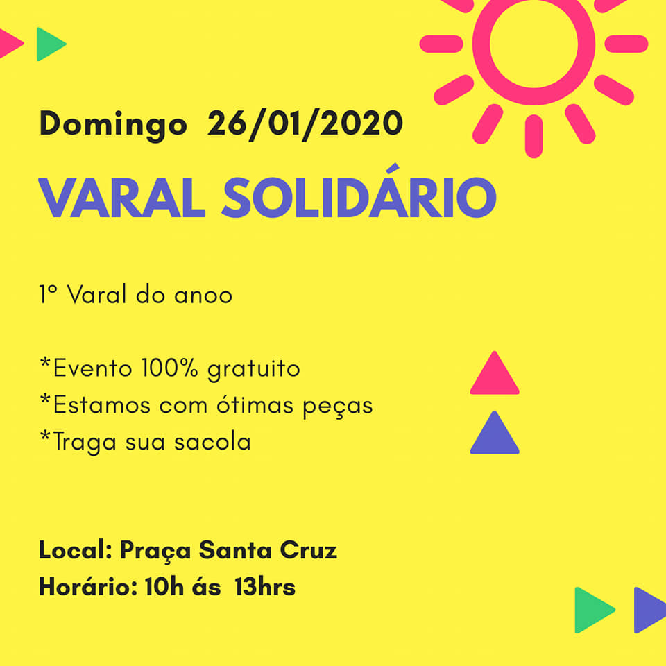 Varal Solidário 2020