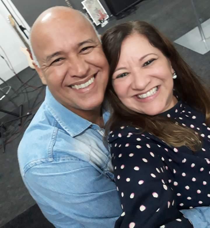 Pastor Marcos Nascimento e sua esposa, Pastora Celeste. (Foto: Arquivo Pessoal do Entrevistado)