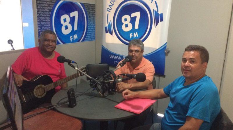 Antônio Carlos, Donacio Silva e Sergio Borges