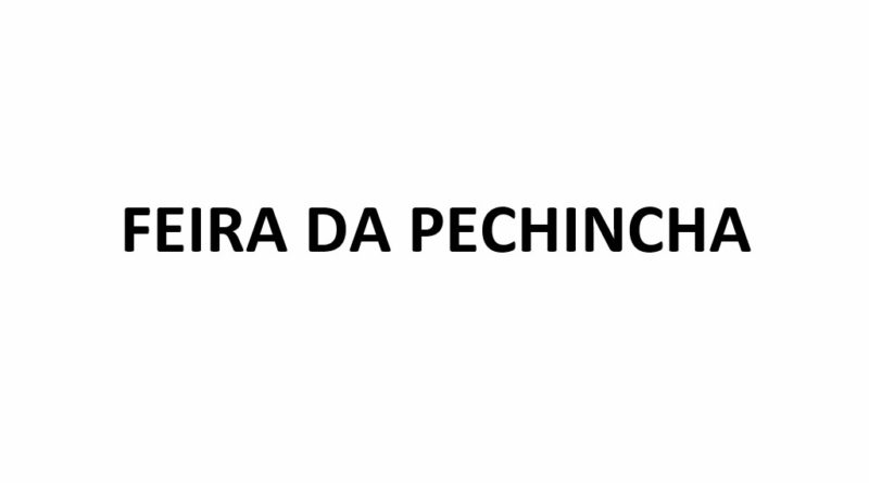 FEIRA DA PECHINCHA