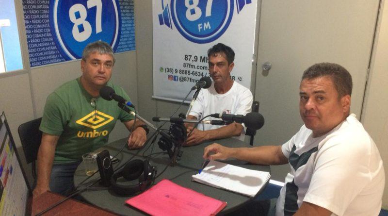 Donacio Silva, Técnico Doir e Sergio Borges