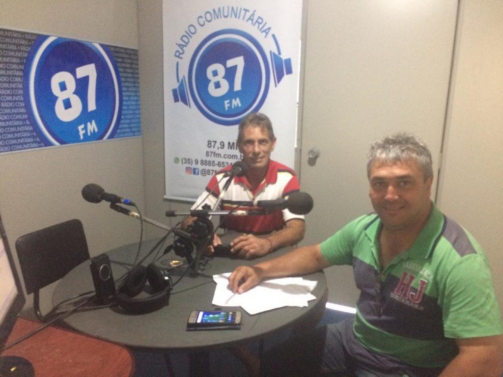 Silvio Pereira Bastos Neto e Donacio Silva