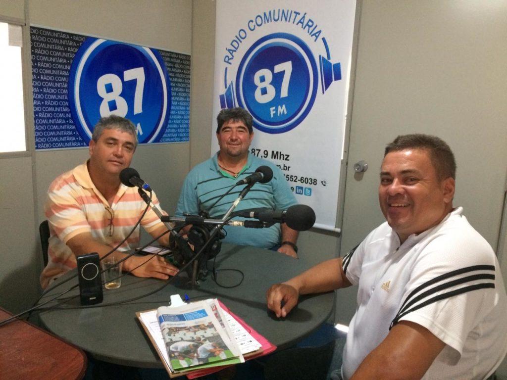 Donacio Silva, Ademir dos Santos e Sergio Borges
