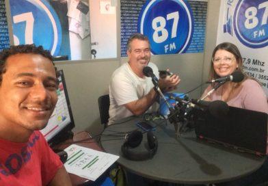 Leandro Vidal, Sergio Faria e Carol Negrão