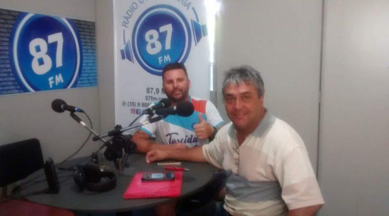 Rodrigo Stampone e Donacio Silva