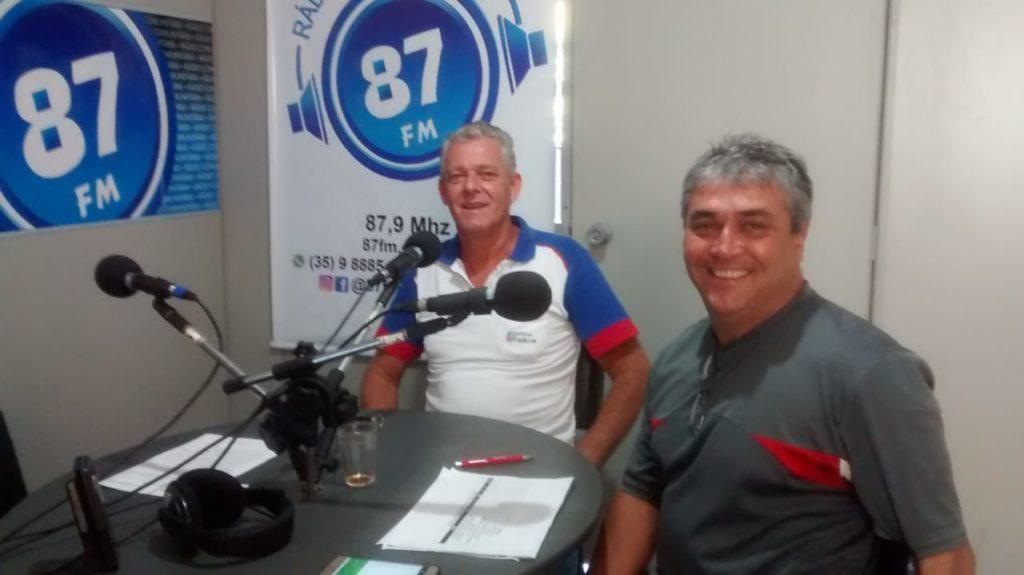 Carlos Pallos e Donacio Silva