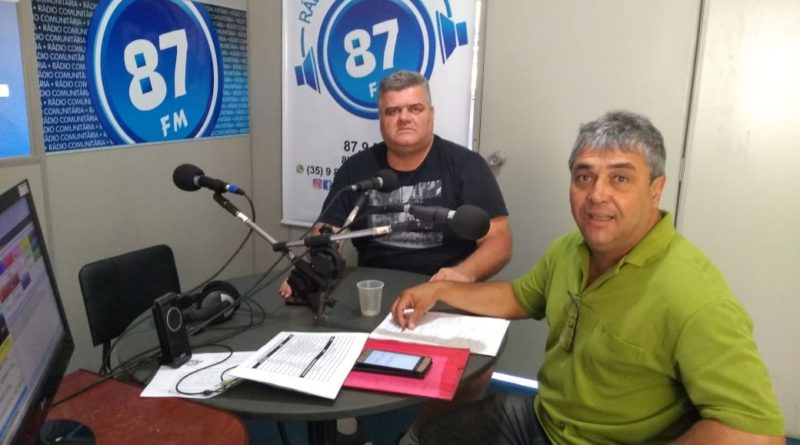 Anselmo Luiz Rodrigues e Donacio Silva