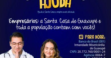 """Campanha """"Santa Ajuda"""" em prol da Santa Casa de Guaxupé"""