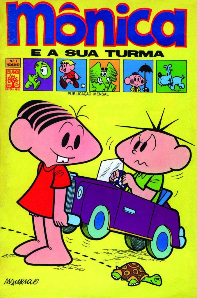 Capa da 1ª revista publicada pela Editora Abril em 1970
