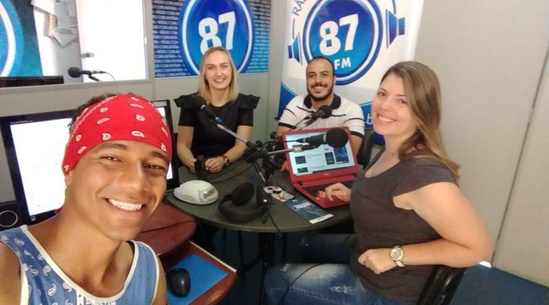 Leandro Vidal, Bruna Luiza dos Santos, Pedro Alves e Carol Negrão