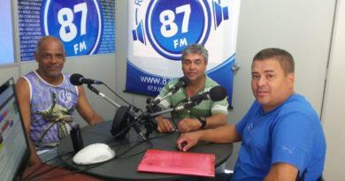 Pedro Luiz, Donacio Silva e Sergio Borges