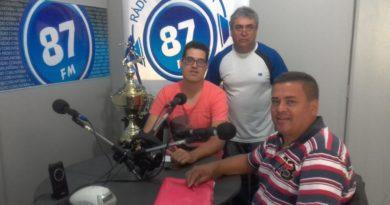 Gustavo Moreno, Donacio Silva e Sergio Borges
