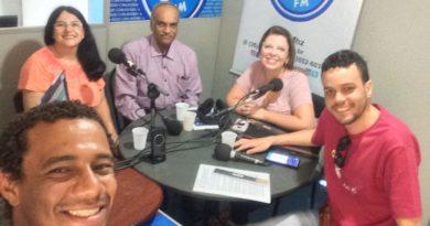Leandro Vidal, Regina Ben, Sandeep Bhay, Carol Negrão e Helbert Valverde