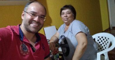 Rodrigo Ribeiro e Celina Maria Lino Oliveira