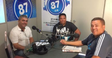 Donacio Silva, Claudinei Bocudo e Sergio Borges