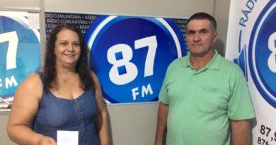 Regina Eleotério e seu marido