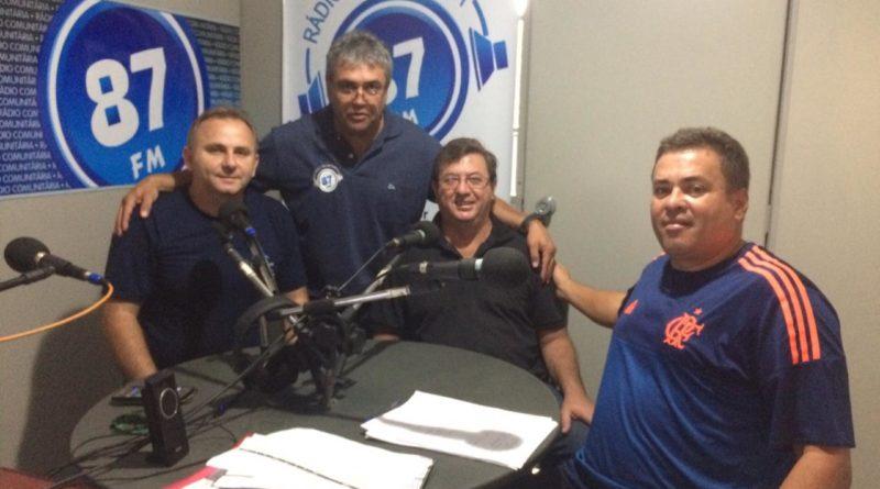 Marco Aurélio Sarrassini, Donacio Silva, Edir Mesquita e Sergio Borges