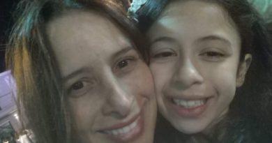Dra. Ana Paula e sua filha (Foto: Arquivo pessoal do entrevistado)