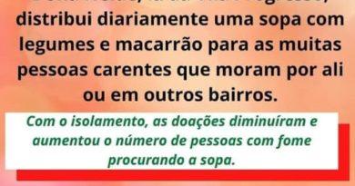 SOPA SOLIDÁRIA DA DONA NEIDE