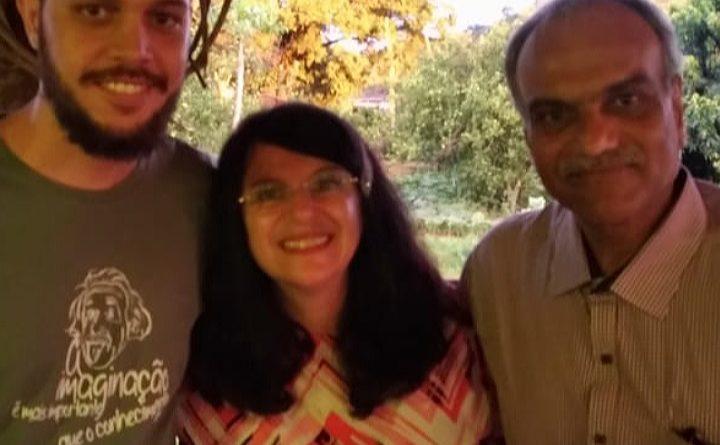 Helbert Valverde, Regina Ben e Sandeep Bhay