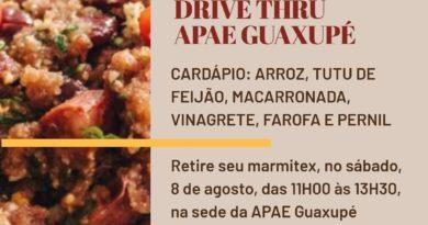 1º MARMITEX DRIVE THRU APAE GUAXUPÉ 08082020