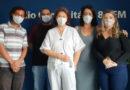 Leandro Vidal, Lucas Bachião, Dr.ª Salma Gallate, Renata Rocha e Carol Negrão