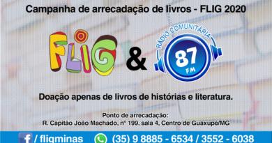 CAMPANHA DE ARRECADAÇÃO DE LIVROS FLIG 2020