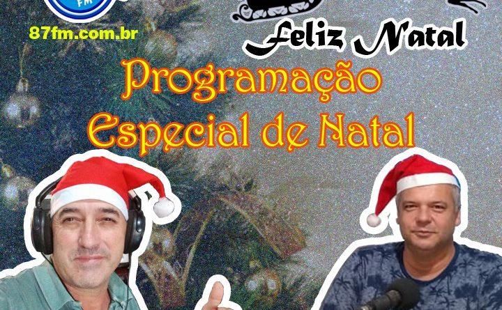 Programação Especial de Natal com Orlando Lima e Ernani Oliveira