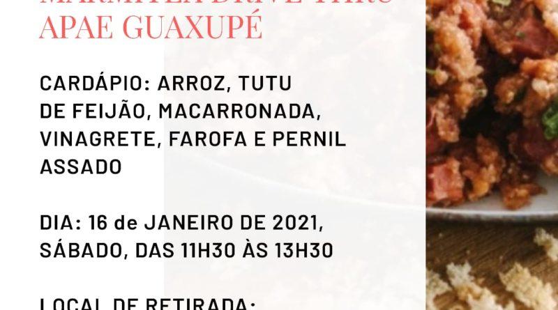 Marmitex Drive Thru da APAE de Guaxupé