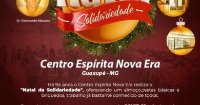 Natal da Solidariedade 2020 do Centro Espírita Nova Era