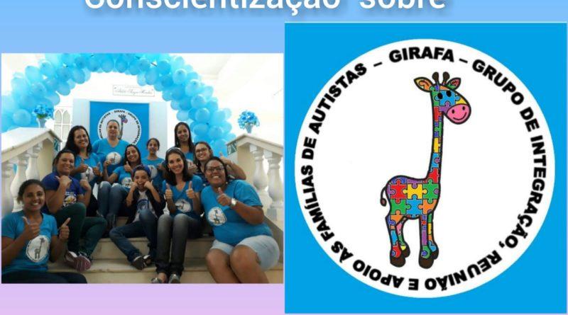 Glatiéris Madeira fala sobre o grupo G.I.R.A.F.A.S. E e conscientização sobre o autismo