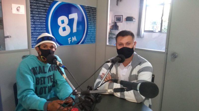 Anderson Paulino (Pretinho BMX) e Gustavo Vinivius (Vereador-SOLIDARIEDADE)