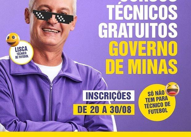 """Projeto """"Trilhas de Futuro"""" do Governo de Minas."""