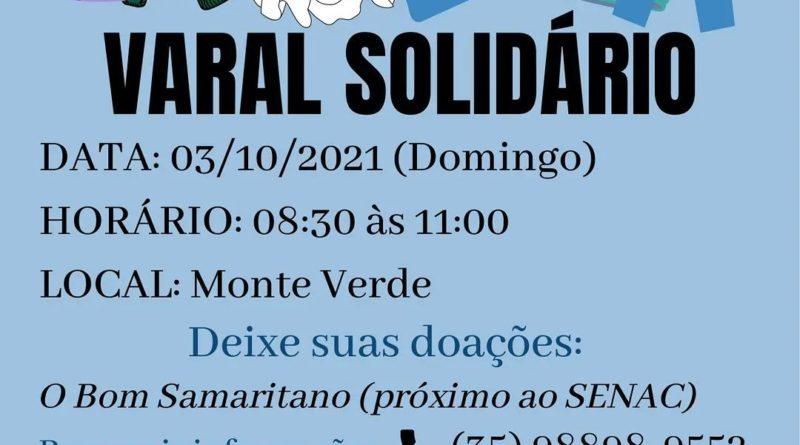 Varal Solidário do Bom Samaritano e da Pastoral da Saúde da Catedral de Guaxupé